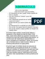 EL TABERNÁCULO 1