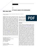 Effective strategies for forensic analysis and Mitochondrial DNA