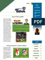 Boletin Palco Liga BBVA 2ª Edicion IMPRIMIR