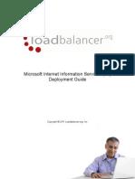 Microsoft IIS Deployment Guide