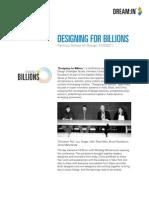 Designing for Billions - New York