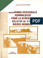 Basarabia Voievodala Romaneasca Pana La Sfarsitul Celui de-Al II-LEA Razboi Mondial