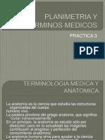Planimetria y Terminos Medicos