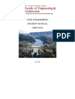 CivilEngineeringStudentManual2009-10