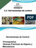 2.4 Herramientas de Control e Higiene