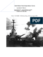 History of United States Naval Operations in the KoreanWar