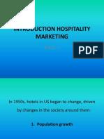 Introduction Hospitality Marketing