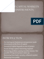 Ori Facts of Capital Markets and Instruments