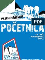 Opca Planinarska Skola PDS Velebit Pocetnica