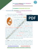 MENSAJES SELECTOS 01 B Doctrina Sobre El Espirituismo Mensajero Del Heloim Www.gftaognosticaespiritual