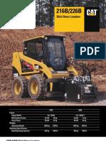 skid steer loader 216B PDF | Valve | Transmission (Mechanics)