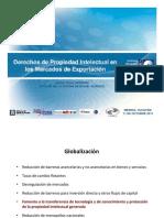 Derechos de Propiedad Intelectual en los Mercados de Exportación impartido por el IMPI