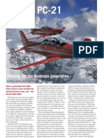 Australian Aviation PC-21 Article