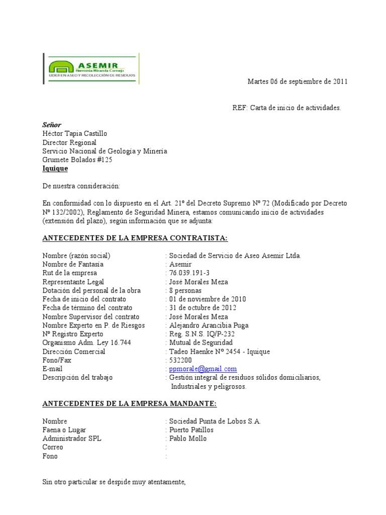 Atractivo Reanudar Carta De Presentación Trabajador De La Salud ...