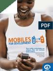 Mobiles for Development - Plan 2009