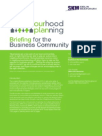 Briefing for the Business Community