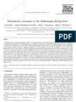 Psycho Metric Assessment of the Hallucinogen Rating Scale 2001 Drug and Alcohol Dependence