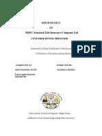 Hdfc Life Insurance 2011