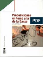 Carlos Pérez Soto - Proposiciones en torno a la Historia de la Danza