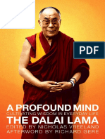 A Profound Mind by H. H. the Dalai Lama - Excerpt