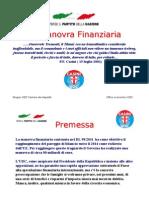 Presentazione Manovra Finanziaria Rv 2.0
