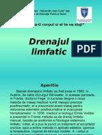 Drenajul limfatic PP