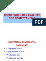 Ensear y Evaluar Por Competencias