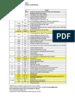 Academic Calendar- Aug 2011