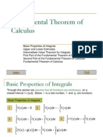 Fundamental Theorem of Calculus (By Miki Sepala)