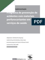 Manual de prevenção acidente perfurocortantes
