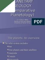16. PLANETARY GEOLOGY