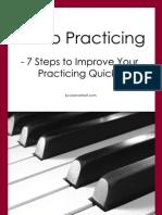 7 Piano Practice Tips