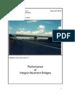 Performance of Integral Abutment Bridges