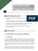 5 La Comunicacion Humana Como Produccion Transfy Reconstr. de Sentidos