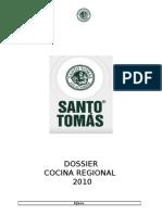 DOSSIER Cocina Regional
