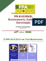 Apresentação Carlos Pinho - Segundo Fórum Interconselhos PPA 2012-2015