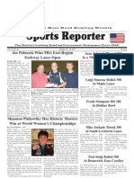 October 12, 2011 Sports Reporter