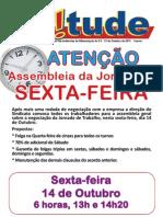 Assembleia Acordo Coletivo Nestlé/Garoto - Jornada de Trabalho 14 10 2011