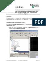 IyCnet Magelis Envio Caracteres ASCII Por Puerto Serie RS232