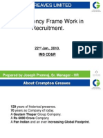 Competency Framework - Recruitment