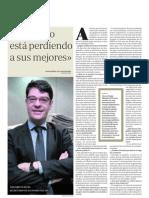 E111009 Entrevista a Alvaro Nadal - El Estado No Puede Perder a Los Mejores