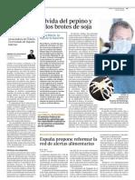 D110606 Alemania Exonera Al Pepino y Culpa Al Brote de Soja - La Hija de La Bacteria