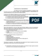 CAPITULO 3 - Organizacion de Mantenimiento
