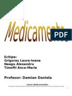 Medicamente Proiect Principal
