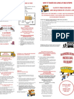 School Bus Safety Brochure