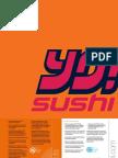 YO! Sushi UK Restaurant Menu