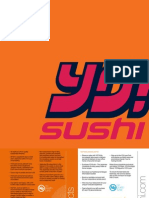 YO! Sushi UK Restaurant Menu