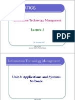 ITM Lecture 2