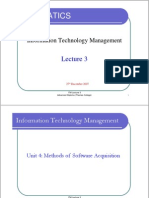 ITM Lecture 3