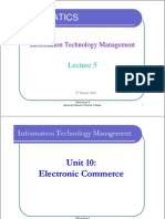 ITM - Lecture 5